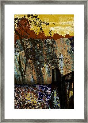Griffith Quarry 4 Framed Print