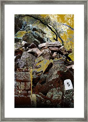 Griffith Quarry 5 Framed Print