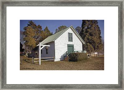 Griffiths Chapel 1850 Framed Print by Brian Wallace