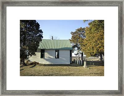 Griffiths Chapel Framed Print by Brian Wallace