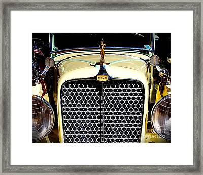 Grill Me Framed Print by Richard Burr