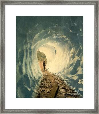 Grindelwald Grotto Switzerland Framed Print by Padre Art