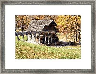 Grist Mill 2 Framed Print by Franklin Conour
