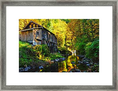 Framed Print featuring the photograph Grist Mill by Jim Boardman