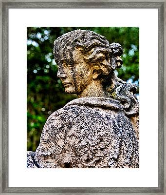 Gritty Profile Framed Print by Christopher Holmes