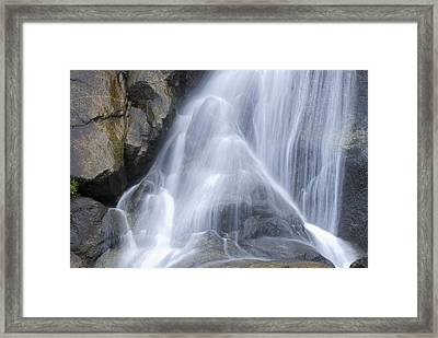 Grizzly Falls In Kings Canyon National Framed Print by Rich Reid