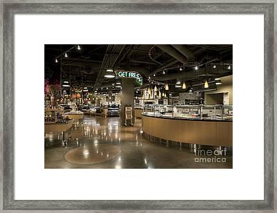 Grocery Store Deli Framed Print by Robert Pisano