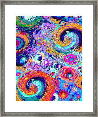 Groovy Framed Print by Paintings by Gretzky