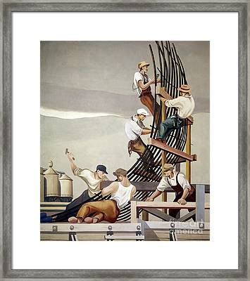 Gropper: Dam, 1939 Framed Print by Granger