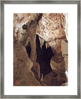 Grotte Magdaleine Region Ardeche France Framed Print by Colette V Hera  Guggenheim