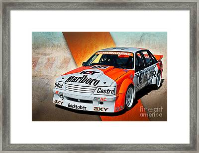 Group C Vk Commodore Framed Print by Stuart Row