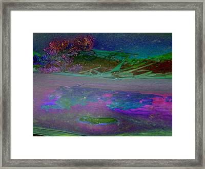 Framed Print featuring the digital art Grow by Richard Laeton
