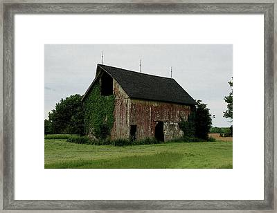 Growing Old Framed Print