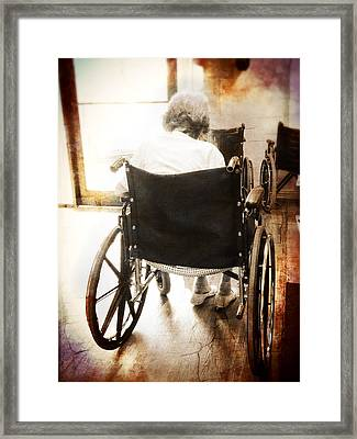 Growing Old Framed Print by Robert Smith