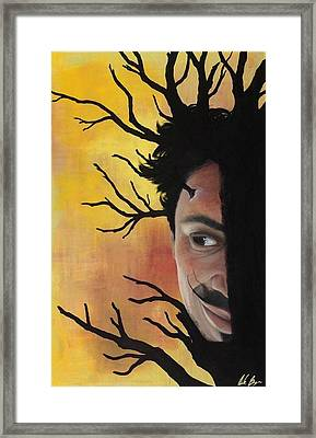 Growth Of A Man Framed Print by Nicole Williams