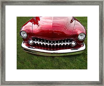 Framed Print featuring the photograph Grrrill by Nick Kloepping