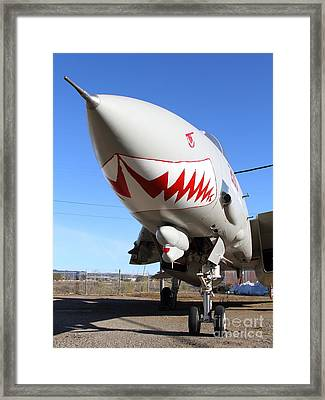 Grumman F-14a Tomcat Fighter Jet Plane . 7d11213 Framed Print by Wingsdomain Art and Photography