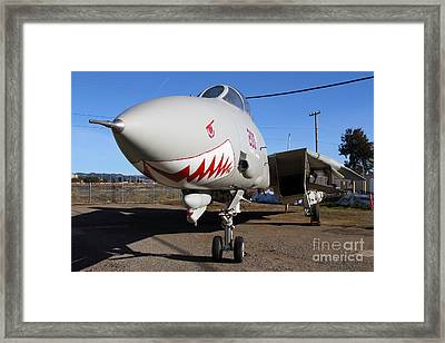 Grumman F-14a Tomcat Fighter Plane . 7d11210 Framed Print by Wingsdomain Art and Photography