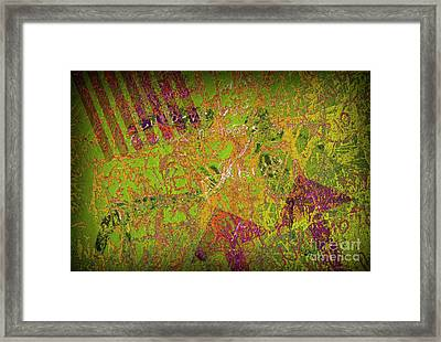 Grunge Background 4 Framed Print by Carlos Caetano