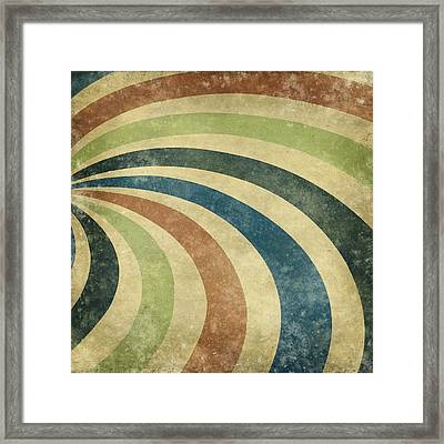 grunge Rays background Framed Print by Setsiri Silapasuwanchai