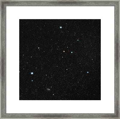 Grus Constellation Framed Print by Eckhard Slawik