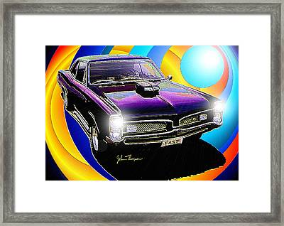 GTO Framed Print by John Thompson