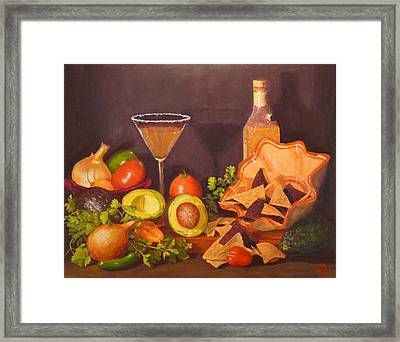 Framed Print featuring the painting Guacamole by Joe Bergholm