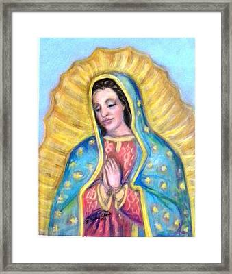 Guadalupe Framed Print by Susan  Clark