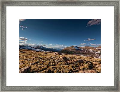 Guanella Pass Colorado Framed Print by Richard Steinberger