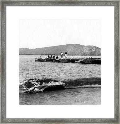Guanica Harbor - San Juan - Puerto Rico - C 1899 Framed Print by International  Images