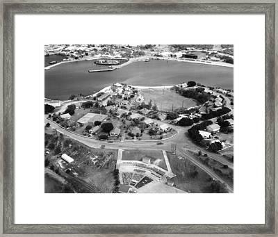 Guantanamo Bay Naval Base Framed Print by Granger