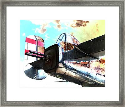 Guard Post Framed Print by Arne Hansen