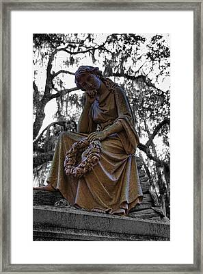 Framed Print featuring the photograph Guardian by Joetta West