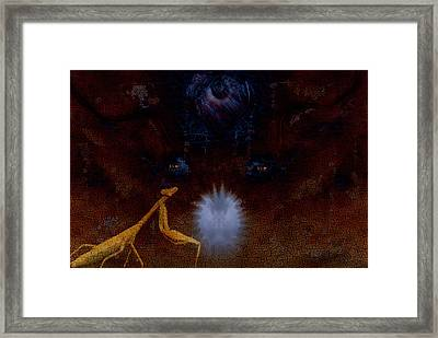 Guardian Of The Pearl Framed Print by Steven Richardson