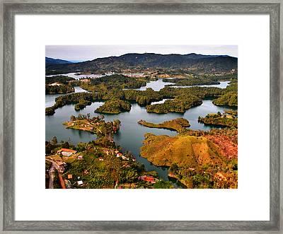 Guatape Framed Print by Skip Hunt