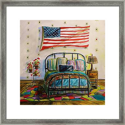 Guest Bedroom Framed Print by John Williams
