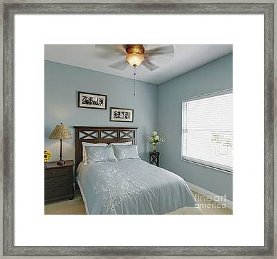 Guest Bedroom Framed Print by Skip Nall