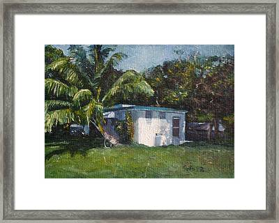Guest House In Aguada Framed Print by Victor SOTO