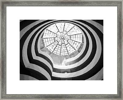 Guggenheim Museum Bw16 Framed Print by Scott Kelley