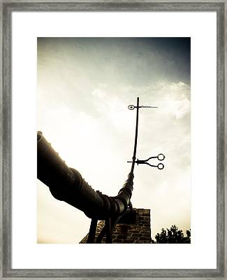 Guide To The Stars Framed Print by Michael Knight