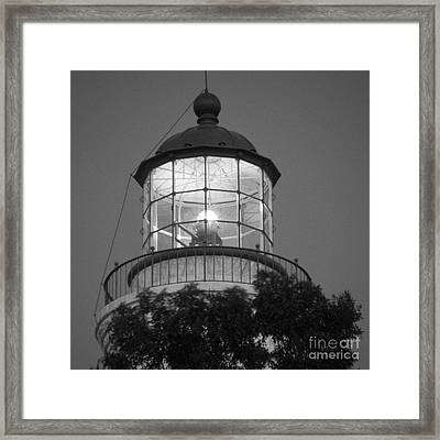 Guiding Light Framed Print by Gordon Wood