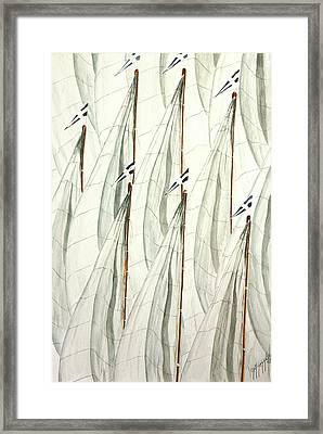 Guidoni Framed Print by Giovanni Marco Sassu