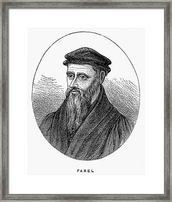 Guillaume Farel (1489-1565) Framed Print