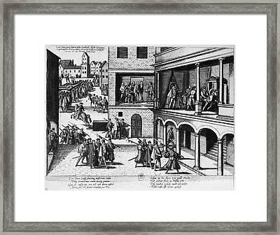Guise Assassinations, 1588 Framed Print by Granger