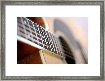 Guitar 1 Framed Print by James Iorfida