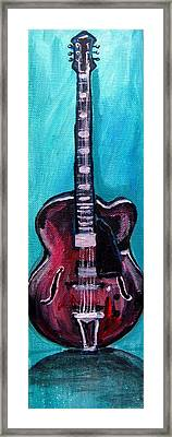 Guitar 2 Framed Print by Amanda Dinan