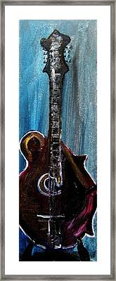 Guitar 3 Framed Print by Amanda Dinan