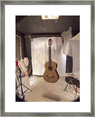 Guitar Framed Print by Larry Darnell