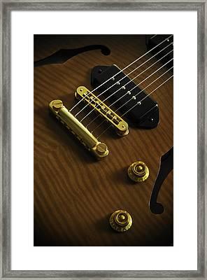 Guitar Framed Print by Mauricio Jimenez