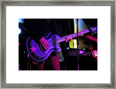 Guitar Player Framed Print by Rawimage Photography